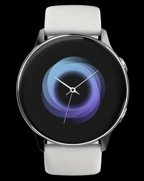 image color watch silver
