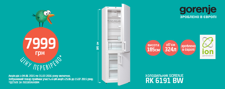 Холодильник 6191