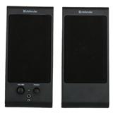 Компьютерная акустика DEFENDER 2.0 SPK-165/SPK-170 4W, 220V, пластик black