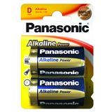 Батарейки PANASONIC LR20 Alkaline Power 1x2 шт.