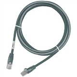 Патч-корд MOLEX PC RJ45 568B UTP stranded PC 5e LS0H 10m Grey (PCD-01019-0E)