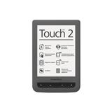 Электронная книга POCKETBOOK 626 Basic Touch 2 Grey (PB626-Y-CIS)