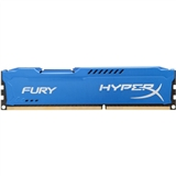 Модуль памяти KINGSTON HyperX OC DDR3 8Gb 1600Mhz CL10 Fury Blue Retail (HX316C10F/8)