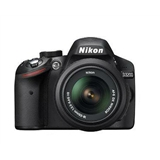 Зеркальный фотоаппарат NIKON D3200 Kit 18-55 II Black (VBA330K002)