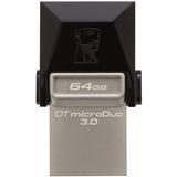 Флеш-драйв Kingston 64 GB DataTraveler microDuo 3.0 (DTDUO3/64GB)