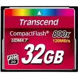 Карта памяти TRANSCEND Compact Flash 32 GB (800X) TS32GCF800