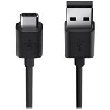 Кабель BELKIN USB 2.0 (CM/AM) 1.8м, Black