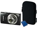 Цифровой фотоаппарат CANON IXUS177BK KIT RUK
