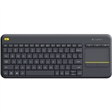 Клавиатура LOGITECH K400 Plus WL Black
