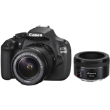 Зеркальный фотоаппарат CANON EOS 1200D EF-S 18-55 DC III + EF 50 1.8 STM
