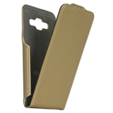 Чехол RED POINT Samsung J120 Galaxy J1 - Flip case Gold