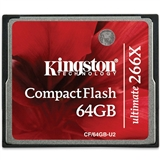 Карта памяти KINGSTON Compact Flash 64 Gb 266x (CF/64GB-U2)