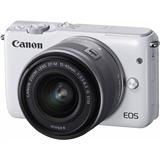 Системный фотоаппарат Canon EOS M10 kit (15-45mm) IS STM White
