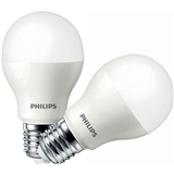 Комплект ламп PHILIPS LED Bulb E27 10.5-85W 6500K 230V A55 (1+1)