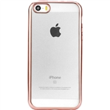 Чехол UTTY Electroplating TPU iPhone 5/5S/SE Pink