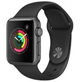 Смарт-часы Apple Watch Series 1 38mm Space Grey Aluminium Case with Bl Sp/B (MP022FS/A)