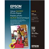Фотобумага EPSON 100 mm x 150 mm Value Glossy Photo Paper 100 л (C13S400039)
