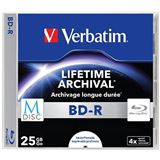 Диск VERBATIM BD-R 25Gb Printable (43822)